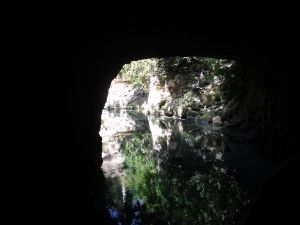 Light at the Mouth of the Cave