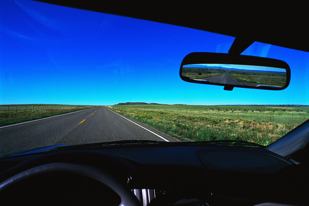 God s goodness in the rearview mirror wordserve water cooler for Looking mirror