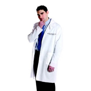 Dr in Lab Coat