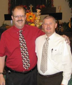 James H. Pence (left) and Terry Caffey