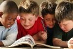reading boys