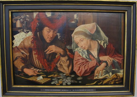 Van Reymerswaele--The Moneychanger and His Wife