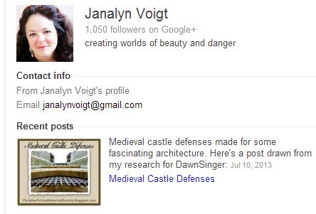 Janalyn Voigt's Google author bio