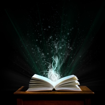 bigstock-Magic-Book-5034701