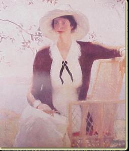 Frank Weston Benson--My Daughter Elizabeth