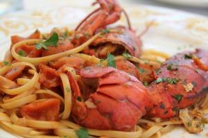 seafood fettucini