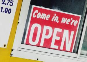 diner open sign
