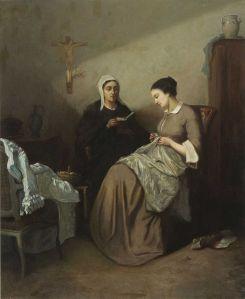 Amédée_Guérard_Bibelstunde