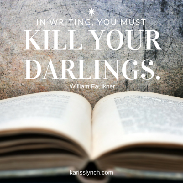 KarissLynch Kill Your Darlings