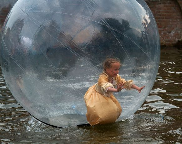 Princess in a Bubble: Sander van der Wel from Netherlands