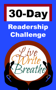 Live Write Breathe Readership Challenge