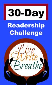 Live Write Breathe Readership Challenge