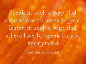 Listen So Others Speak