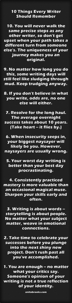 Things Every Writer Should Remember